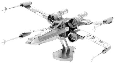Star Wars X-Wing Star Fighter Model Kit by Metal Earth